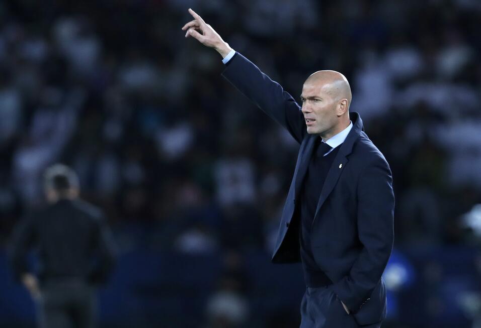 Entrenador: Zinedine Zidane (Real Madrid)
