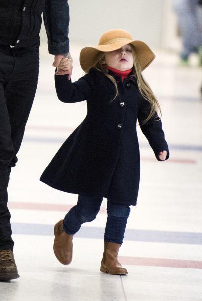 ¿Cómo no admirar a esta nena?