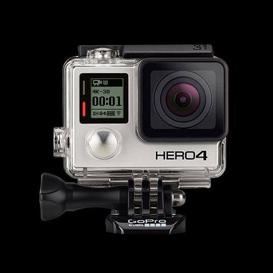 GoPro Hero 4. Con espectaculares imágenes de aún mejor calidad que sus p...