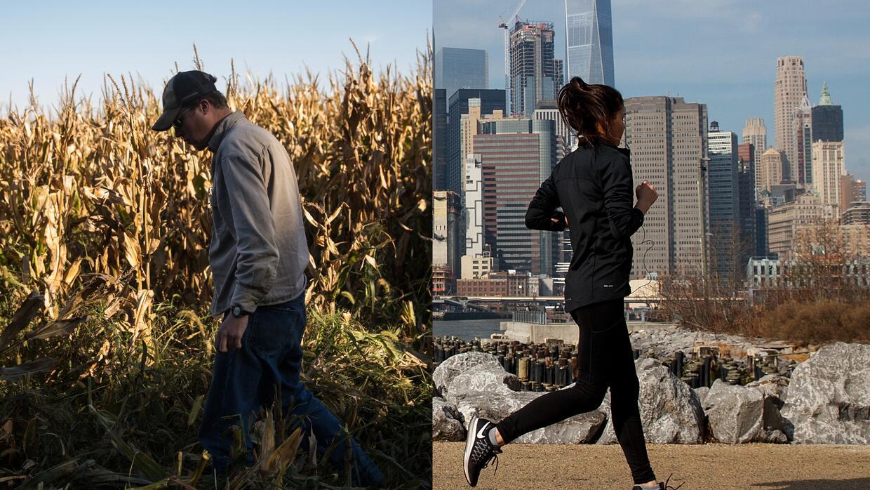 Estados Unidos vive una fuerte tensión entre el mundo rural y urbano.