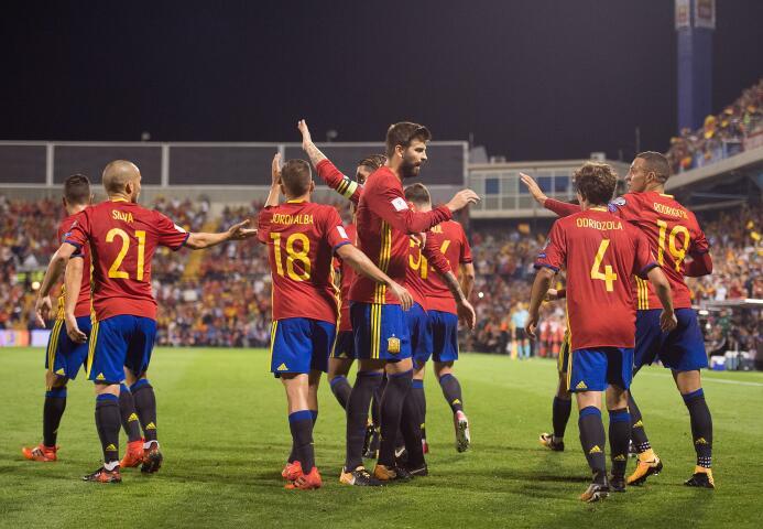 España se convirtió en el clasificado 11 a Rusia 2018 gettyimages-858421...