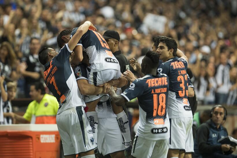 En la fase regular del Apertura 2017, Monterrey marcó 29 goles (u...
