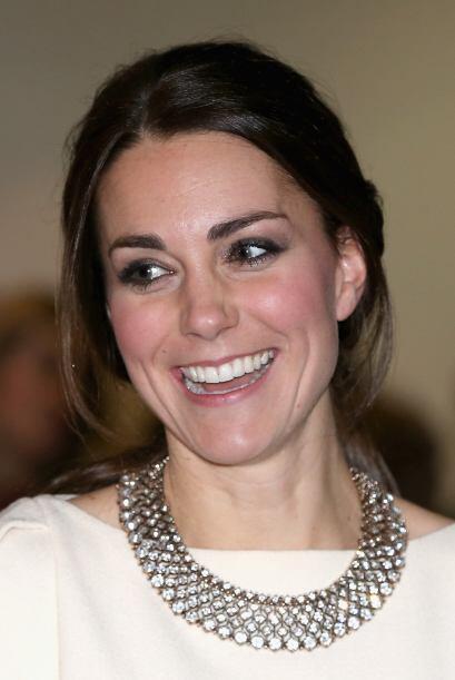 Como siempre, Kate deslumbró a todos gracias a su belleza y su sonrirsa.