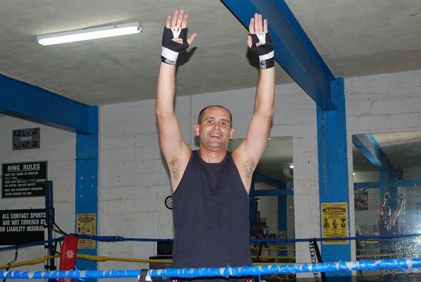 Toda la acción tuvo lugar en el South Florida Boxing Gym.