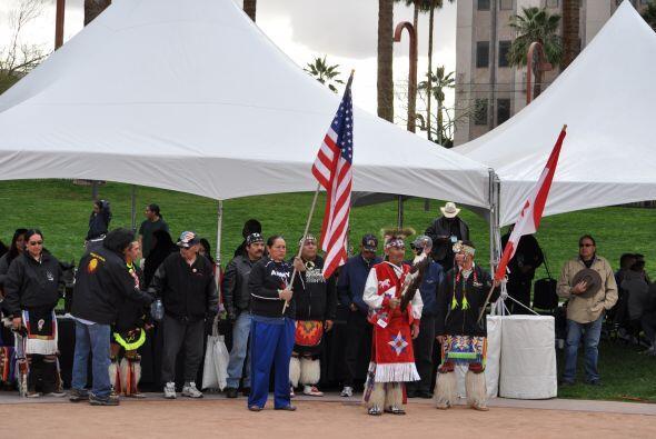 El Museo Heard en Phoenix sirvió como escenario del  campeonato mundial...
