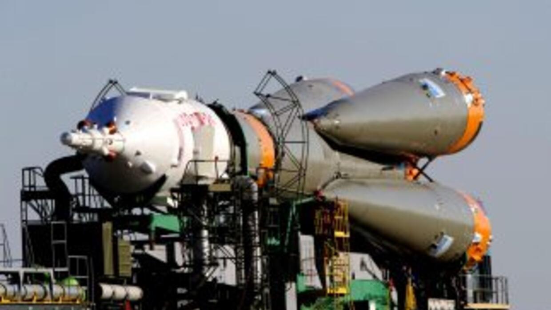 Es la primera vez en diez años de vuelos de Soyuz a la ISS que una nave...