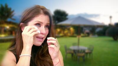 Alessandra Rosaldo lloró contando cómo un Eugenio Derbez vestido de príncipe le pidió la mano