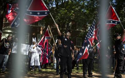 La manifestación del sábado no es la primera. En la imagen...