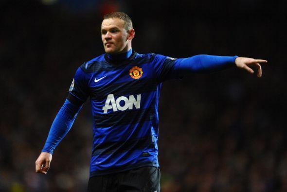 Rooney fue el DT dentro de la cancha.