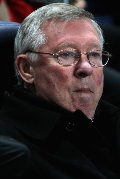 Sir Alex Ferguson, que tuvo sus más y sus menos con Tévez en el 'Man-U',...