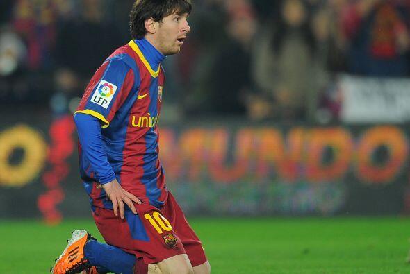 Cuando las cosas no salen...Messi se queda sin palabras.
