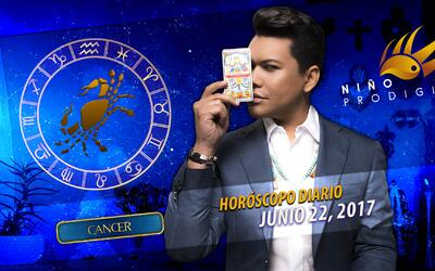 Niño Prodigio - Cáncer 22 de junio 2017