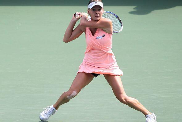 Agneska Radwanska se vengó de Angelique Kerber y la eliminó.