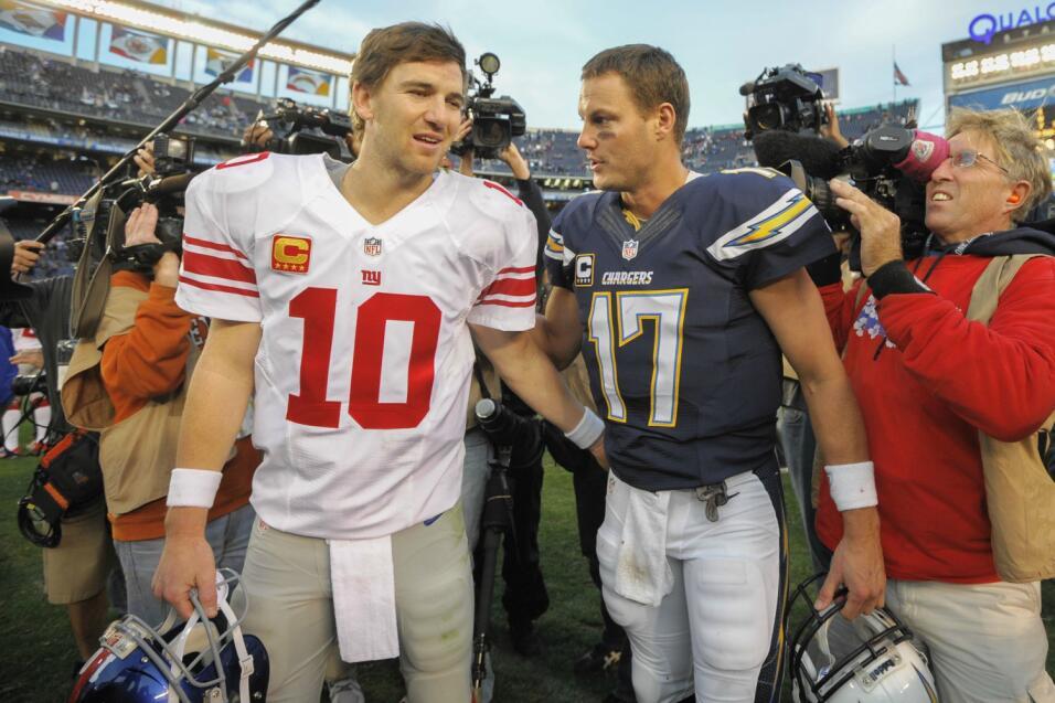 Draft 2004 – El famoso canje de Philip Rivers (NYG) por Eli Manning (SD)...