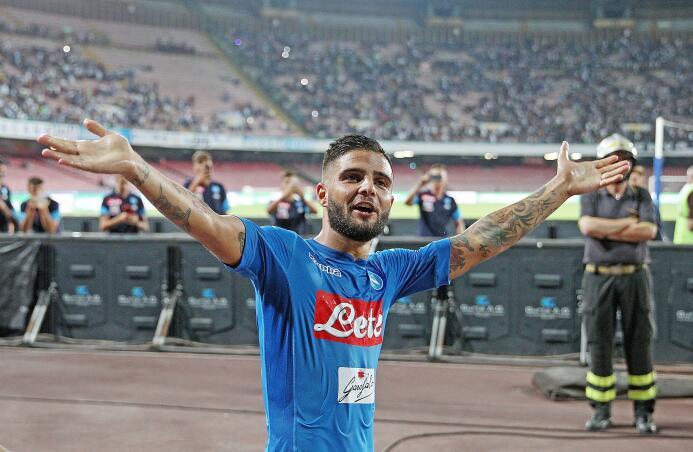 14. Lorenzo Insigne (S.S.C. Napoli) - 3,6 millones de euros
