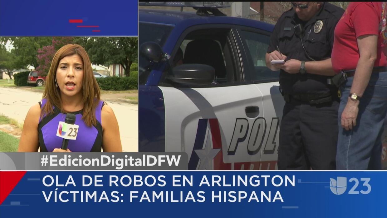 Residentes denuncian ola de robos en Arlington