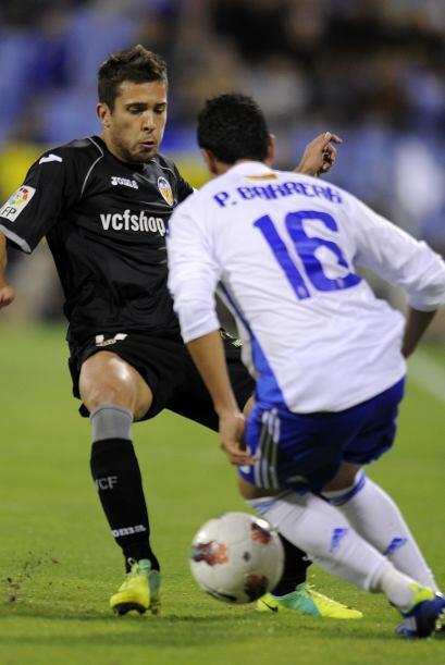 Pero el Valencia tenía algunas oportunidades de irse al frente, que no p...