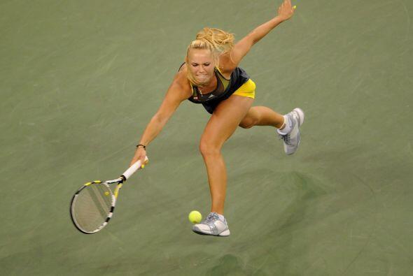 La bella danesa, Caroline Wozniacki está arrasando en el US Open y no so...