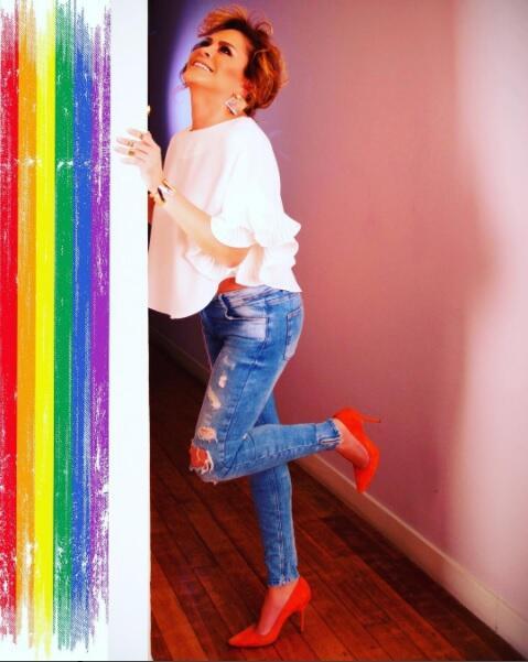 Mara Patricia apoyo gay