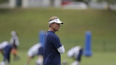 Les Snead está contento con los Rams (AP-NFL).