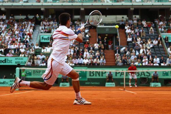 El serbio Novak Djokovic acababa de ganarle dos finales en sendos Master...
