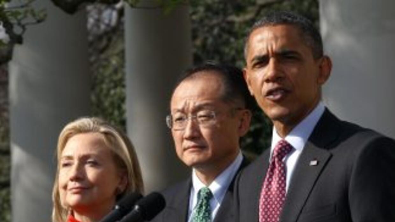 Jim Yong Kim no había nombrado entre los posibles candidatos de Estados...