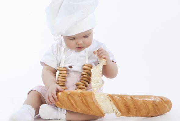 Y para tener tu propio 'chef' el gorro y su ropa blanca es suficiente. S...