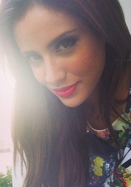 Aleyda luce su belleza todos los días y deja muy en alto a la mujer latina.