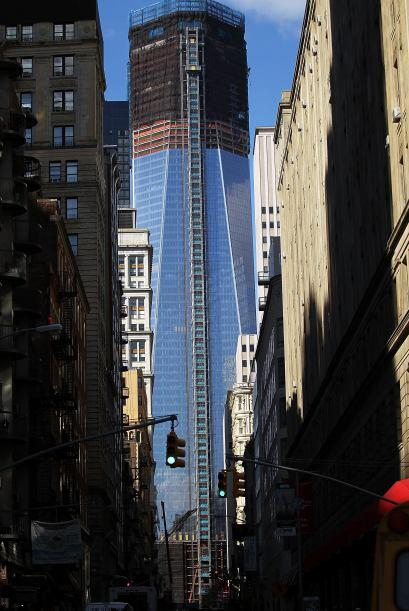 """""""La evolución (del proyecto) en el intercambio de transportes del WTC en..."""