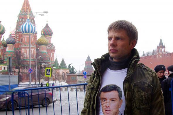 """""""Murió por el futuro de Rusia"""" o """"Luchó por una Rusia libre"""" eran alguno..."""