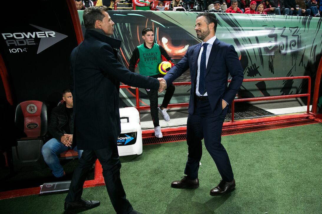 Antes de enfrentarse en la jornada 10, los equipos de Diego Cocca y Rafa...