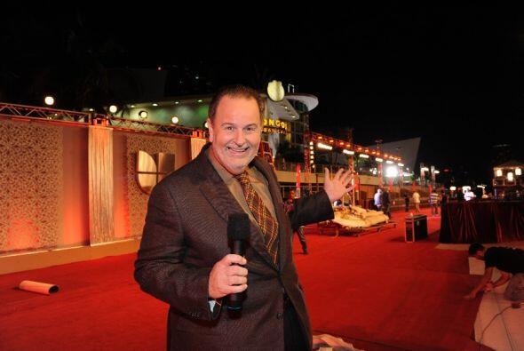 Raúl estará en la entrada de la alfombra haciendo temblar a los famosos...