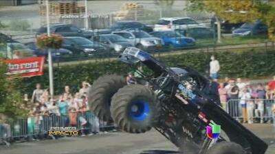 """Un fatal desenlace tuvo una exhibición de los """"Monster Trucks"""""""