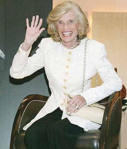 EuniceUnos días antes, el 11 de agosto, la hermana mayor de Edward Kenne...