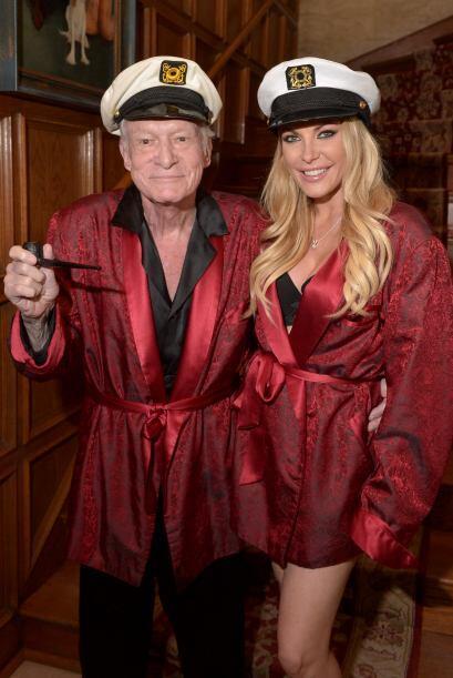 Hugh y Crystal Hefner fueron anfitriones de una noche en la que además d...