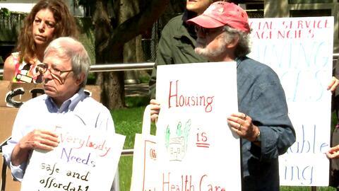 Exigen la protección de la vivienda asequible y el cuidado de la salud e...