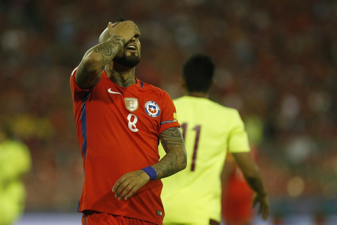 Chile hundió a Venezuela y se mete en grupo de clasificados en Conmebol...