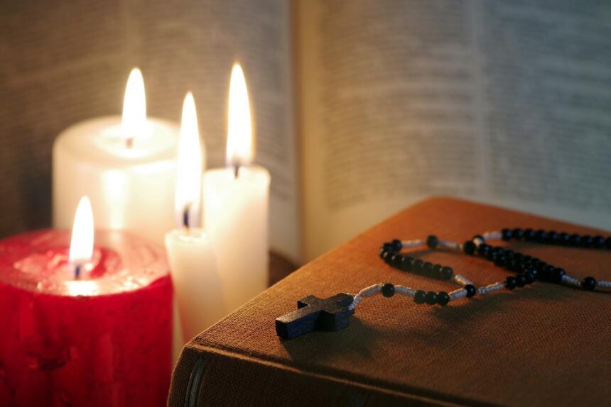 La vela ideal para comunicarte con los arcángeles  shutterstock-61163216...