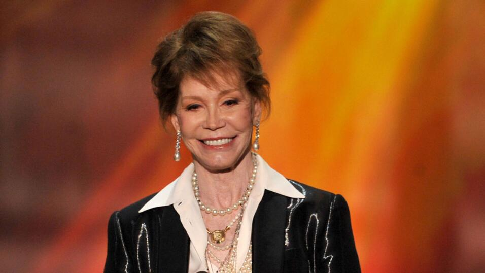 Mary Tyler Moore en los Screen Actors Guild Awards 2012