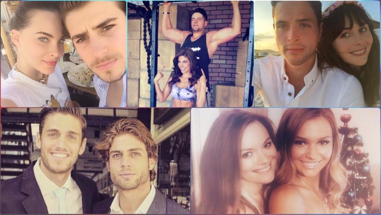 Estos son los 16 hermanos más guapos de los famosos de telenovela