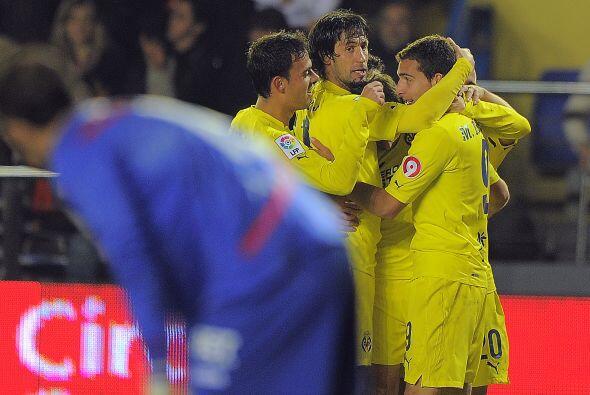 Ese tercer tanto del Villarreal fue marcado por el argentino Marcos Rubén.