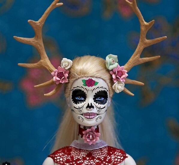Barbie festeja el Día de los Muertos, una dedicatoria de la artista a lo...