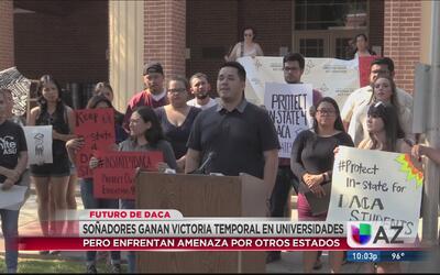 'Dreamers' de Arizona temen por el futuro de DACA