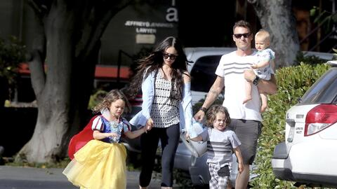 Megan Fox y familia