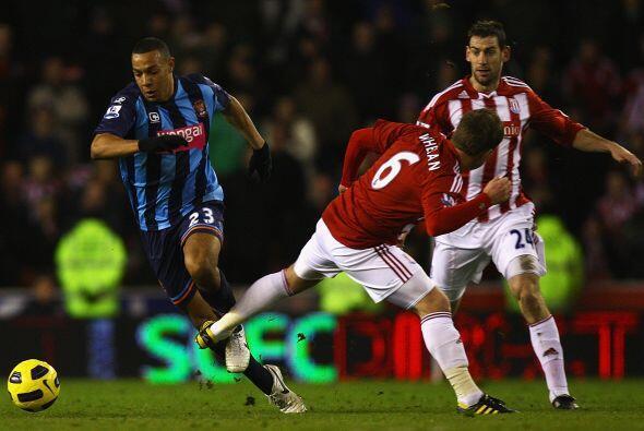 Stoke City cayó ante el Blackpool jugando de local por 1 a 0.