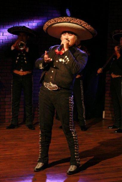 Con su voz dejó claro porque es el número de la música ranchera