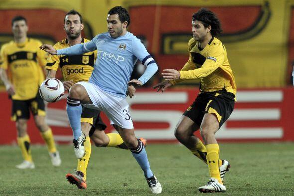 No hubo tiempo de más, el choque de Ida entre Aris Salónica y Manchester...