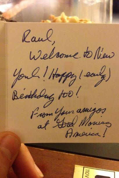 """""""¡Gracias! Thanks amigos de @gma por el tremendo regalo que dejaron en e..."""