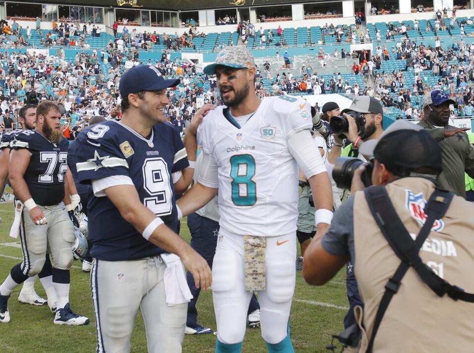 En su regreso a los emparrillados Tony Romo logró la victoria para los C...