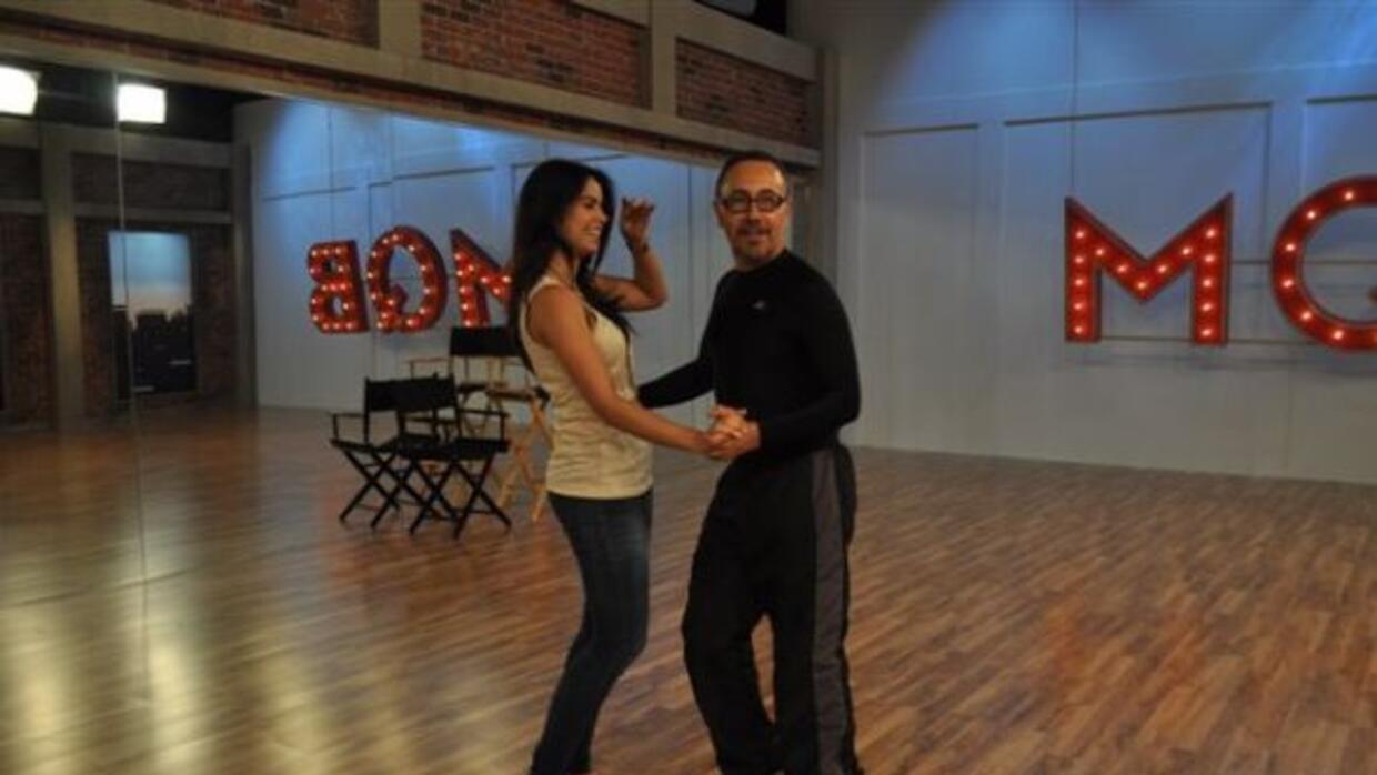 Vanessa de Roide habló con el mexicano durante sus ensayos.